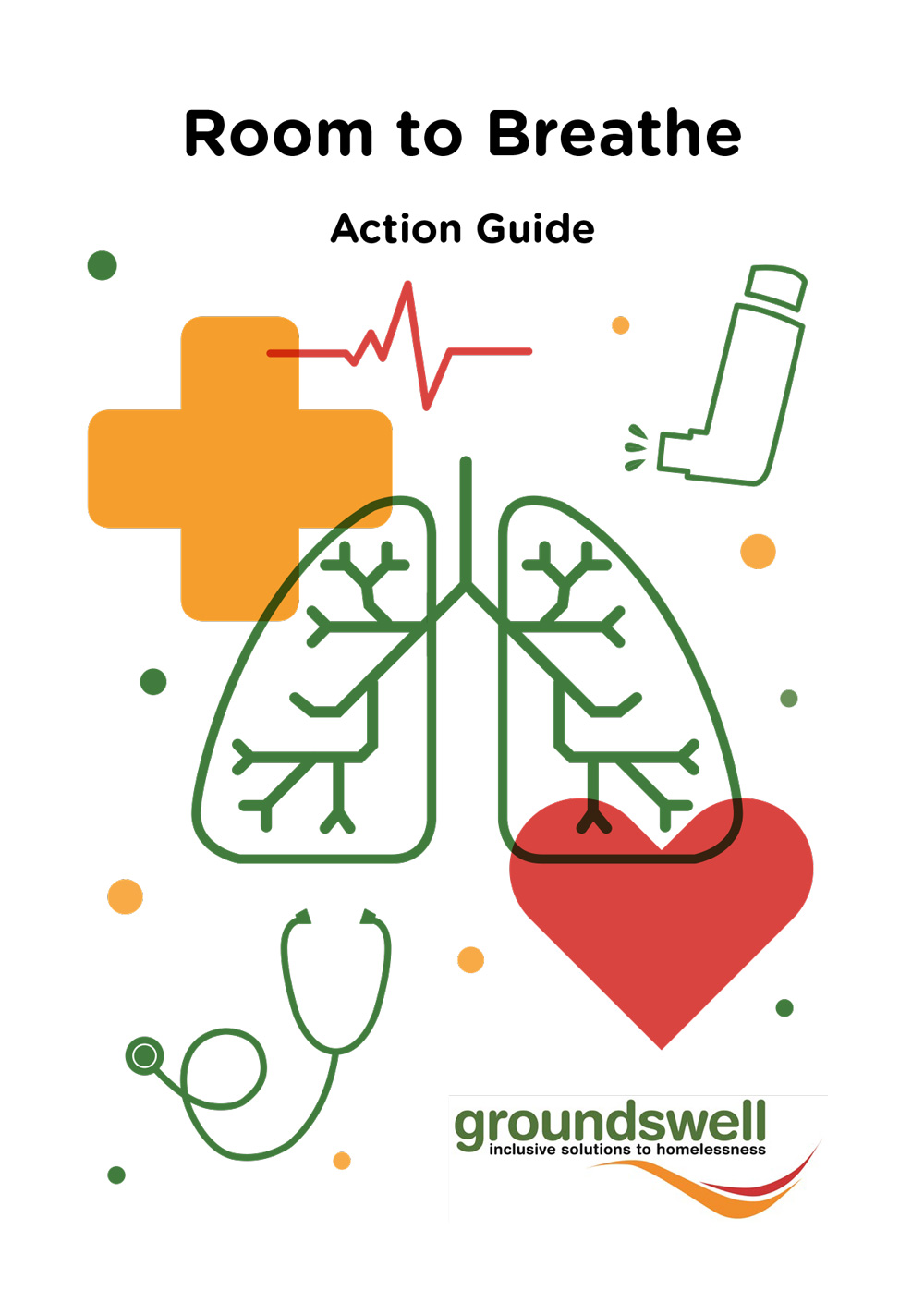 Front cover of the room to breathe action guide