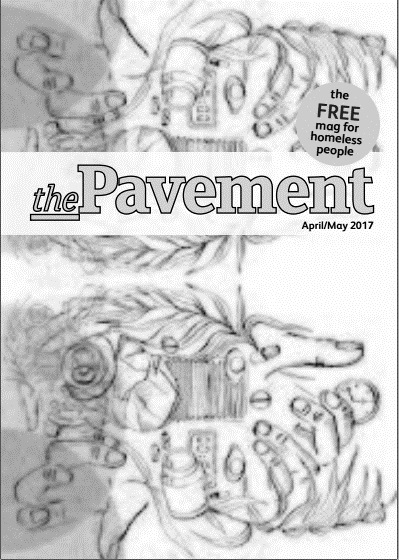 Front cover of the Pavement April 2017 edition