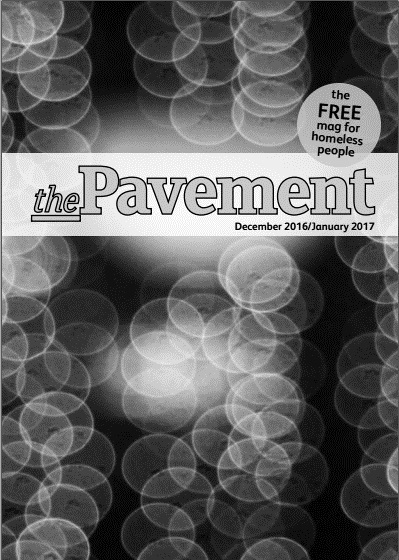Front cover of the Pavement December 2016 edition