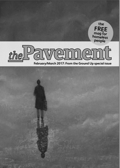 Front cover of the Pavement February 2017 edition