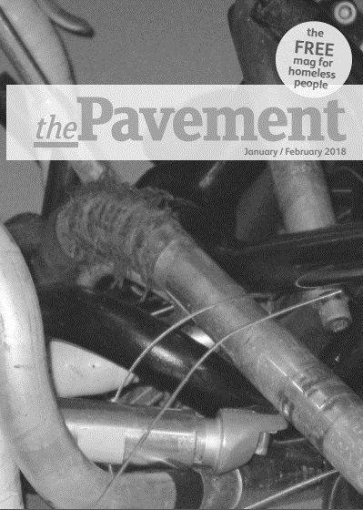 Front cover of the Pavement January 2018 edition