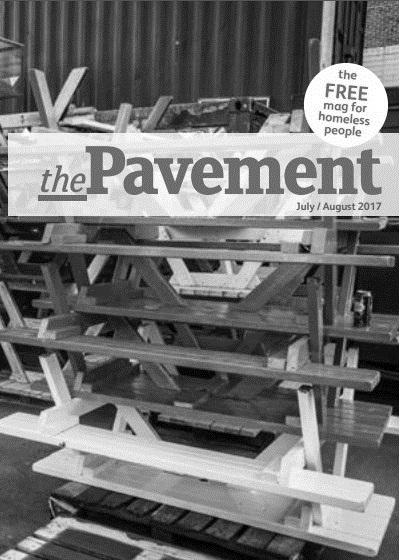 Front cover of the Pavement July 2017 edition
