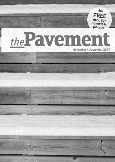 Front cover of the Pavement November 2017 edition