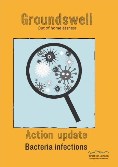 Front cover of the bacteria infections action update