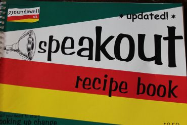 The front cover of the speakout recipe book