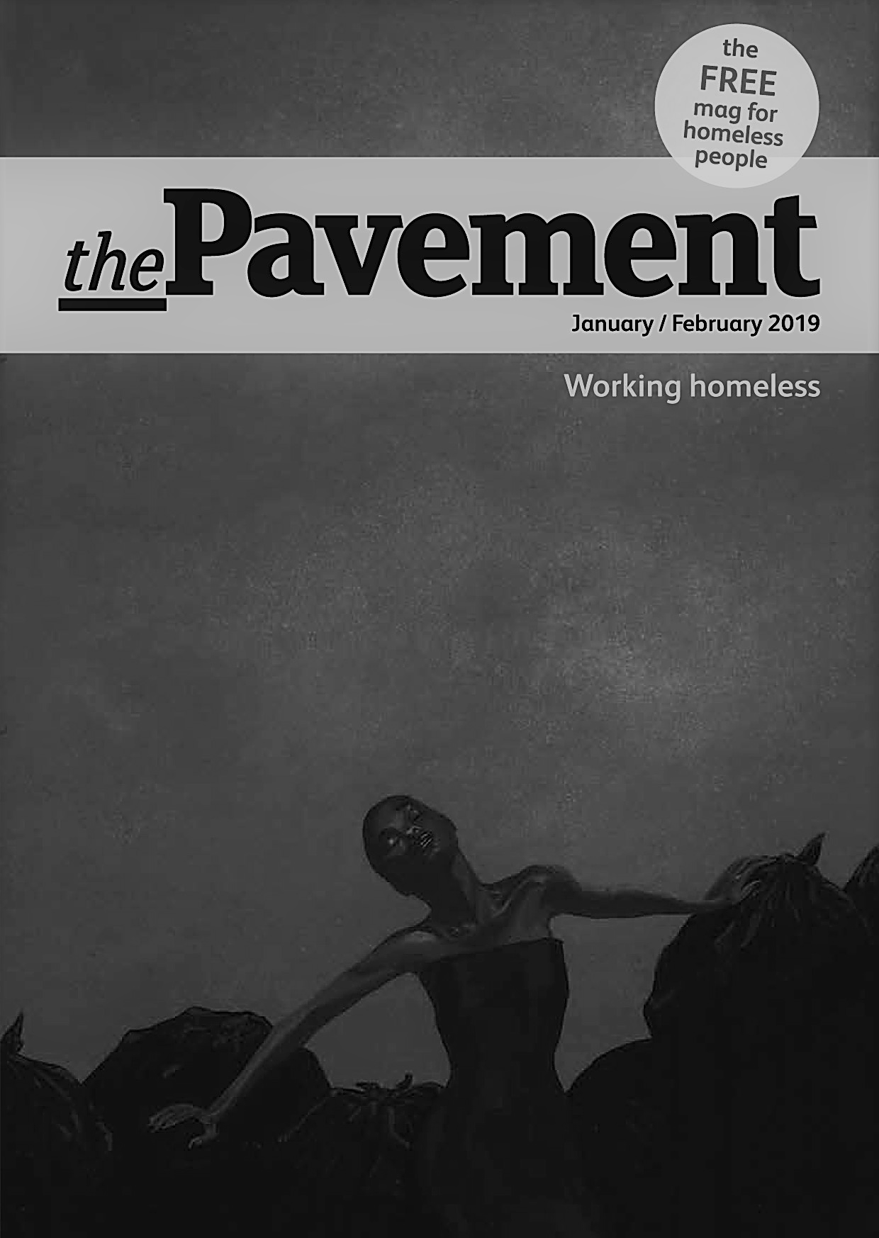 Front cover of the Pavement working homeless edition