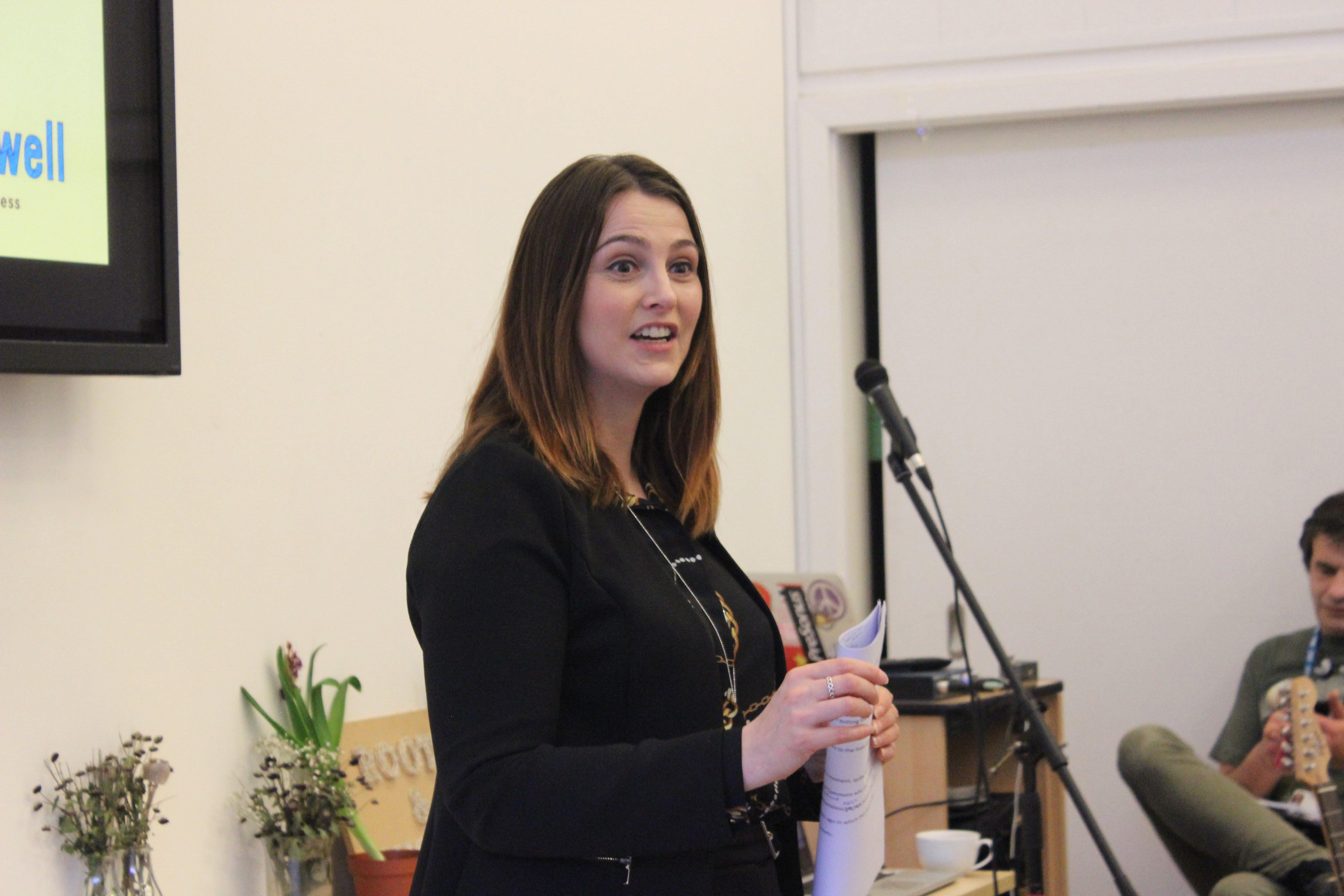 Melanie Onn speaking