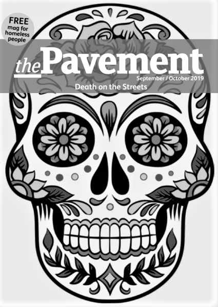 Front cover of the Pavement death on the streets edition