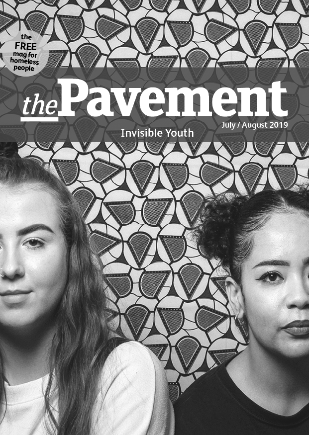 Front cover of the Pavement invisible youth edition