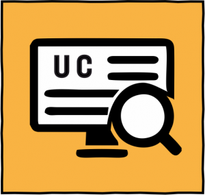 Image of computer on UC website